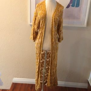 Lucca Couture Knit Duster